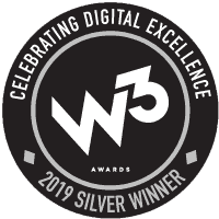 W3 Silver Award for the SSO website