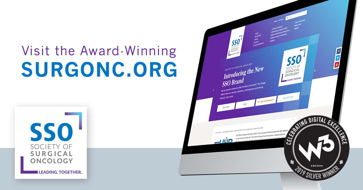 SSO's Website Wins W3 Award