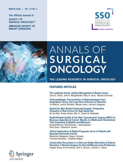 <i>Annals of Surgical Oncology</i> Expands Influence in Surgical Oncology